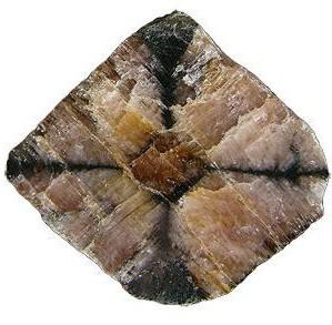 Крестовой минерал