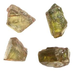 неограненные минералы