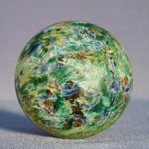 Шар из поделочного камня