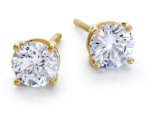 серьги с бриллиантам