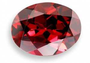 Красный гранат