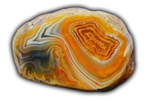 Камень желтый агат