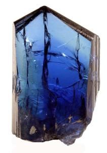 Красивый синий минерал