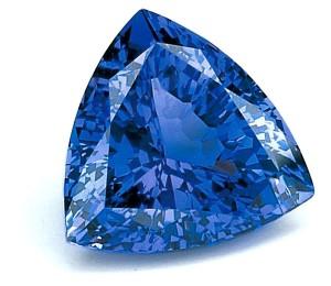 Красивый синий камень