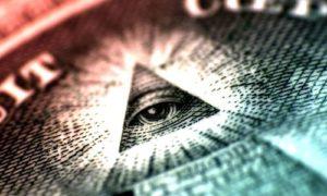 Масонский знак на долларе