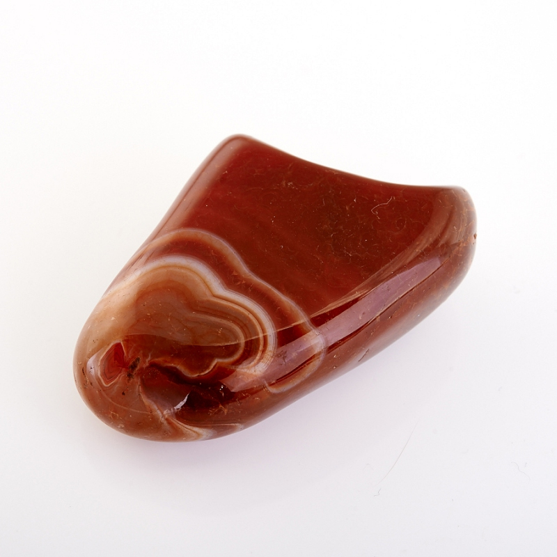 Камень красный агат
